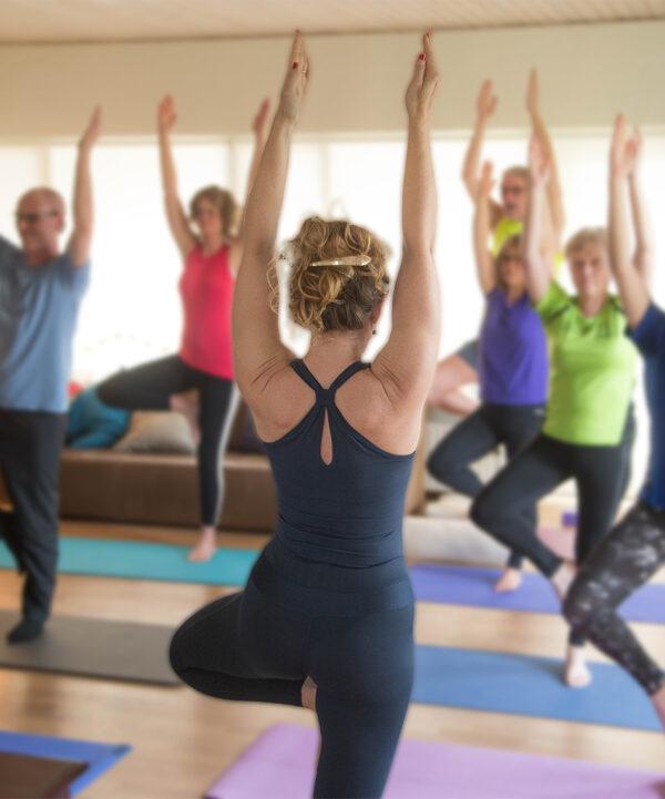 Yoga hold Mårslet